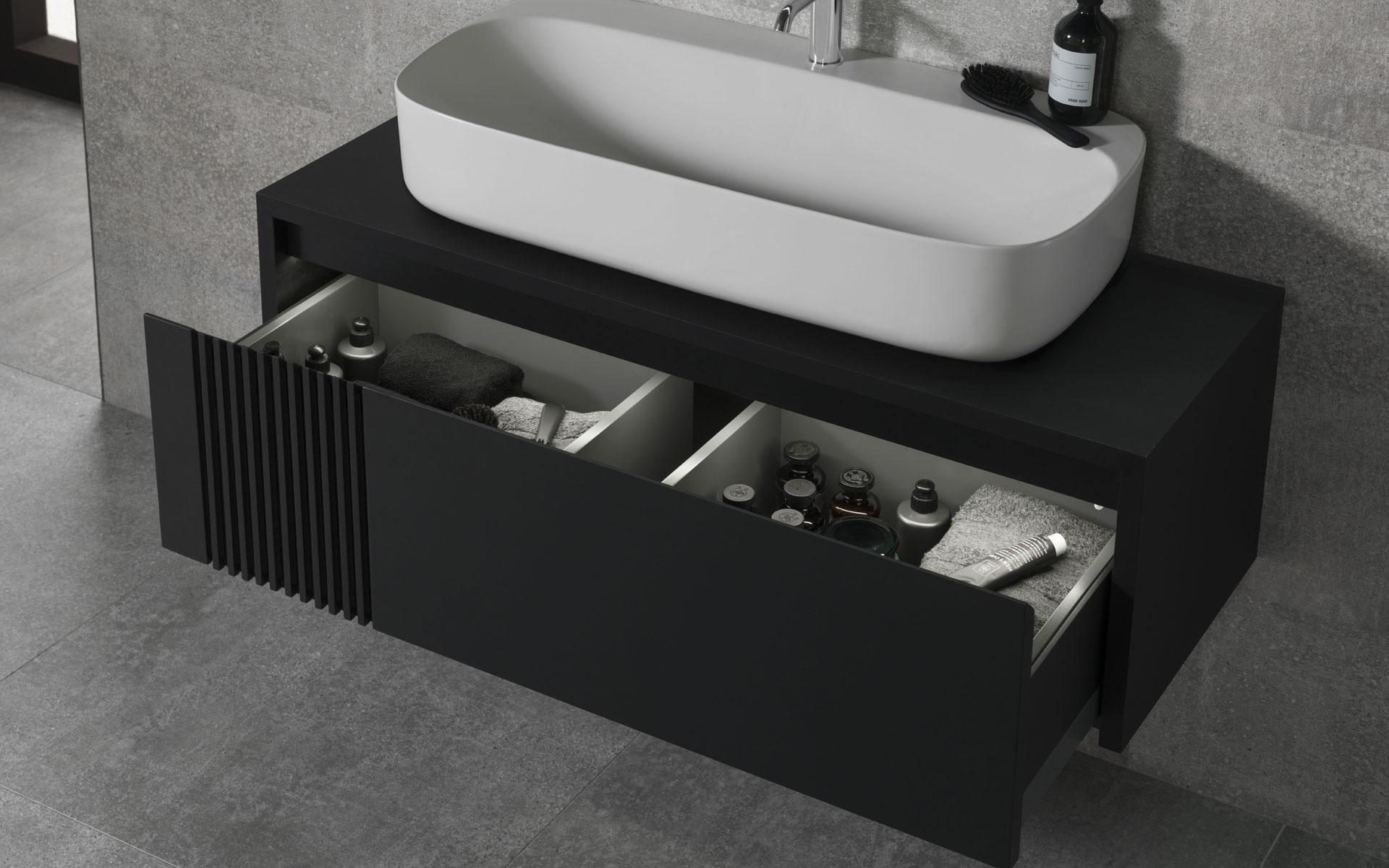 Meuble de salle de bain et Vasque : Bulles et Eau Annecy